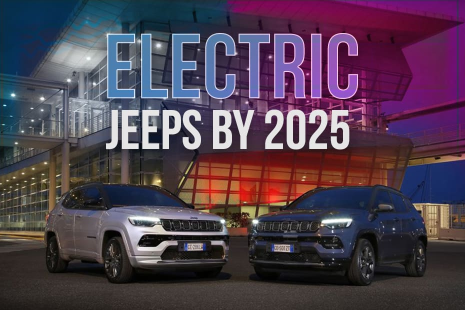 Every Jeep SUV Will Have A Fully Electric Version By 2025