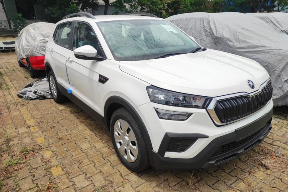Here's What The Base Active Variant Of The Skoda Kushaq Looks Like