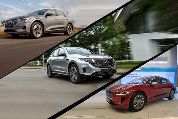 Audi e-Tron Vs Jaguar i-Pace Vs Mercedes Benz EQC: Electric SUVs Compared