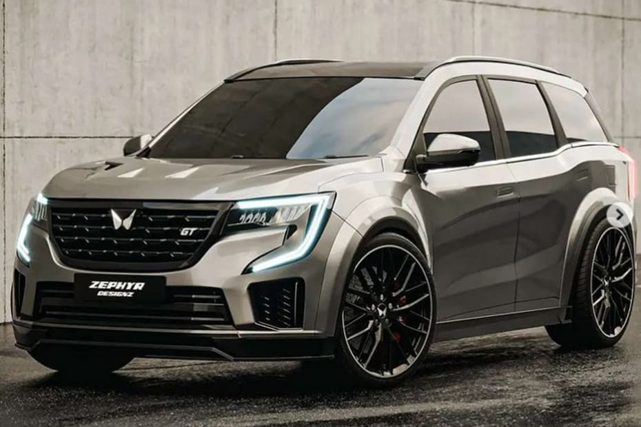 This Mahindra XUV700 GT Concept Is The Sporty SUV We Want But Can't Have