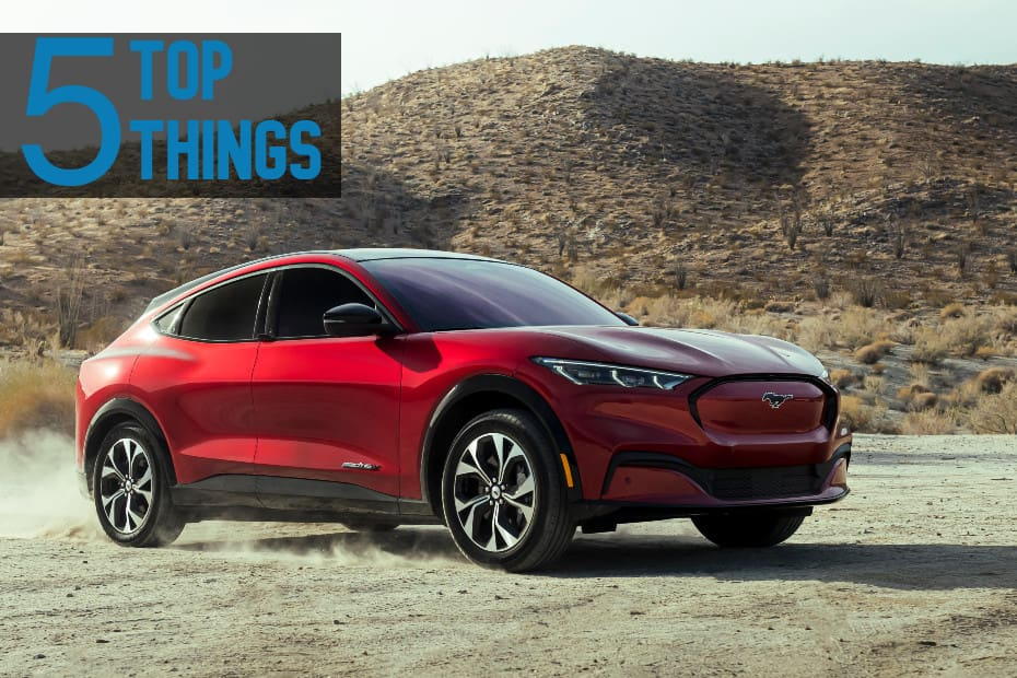 Top 5 Things About The India-bound Ford Mustang Mach-e Electric SUV