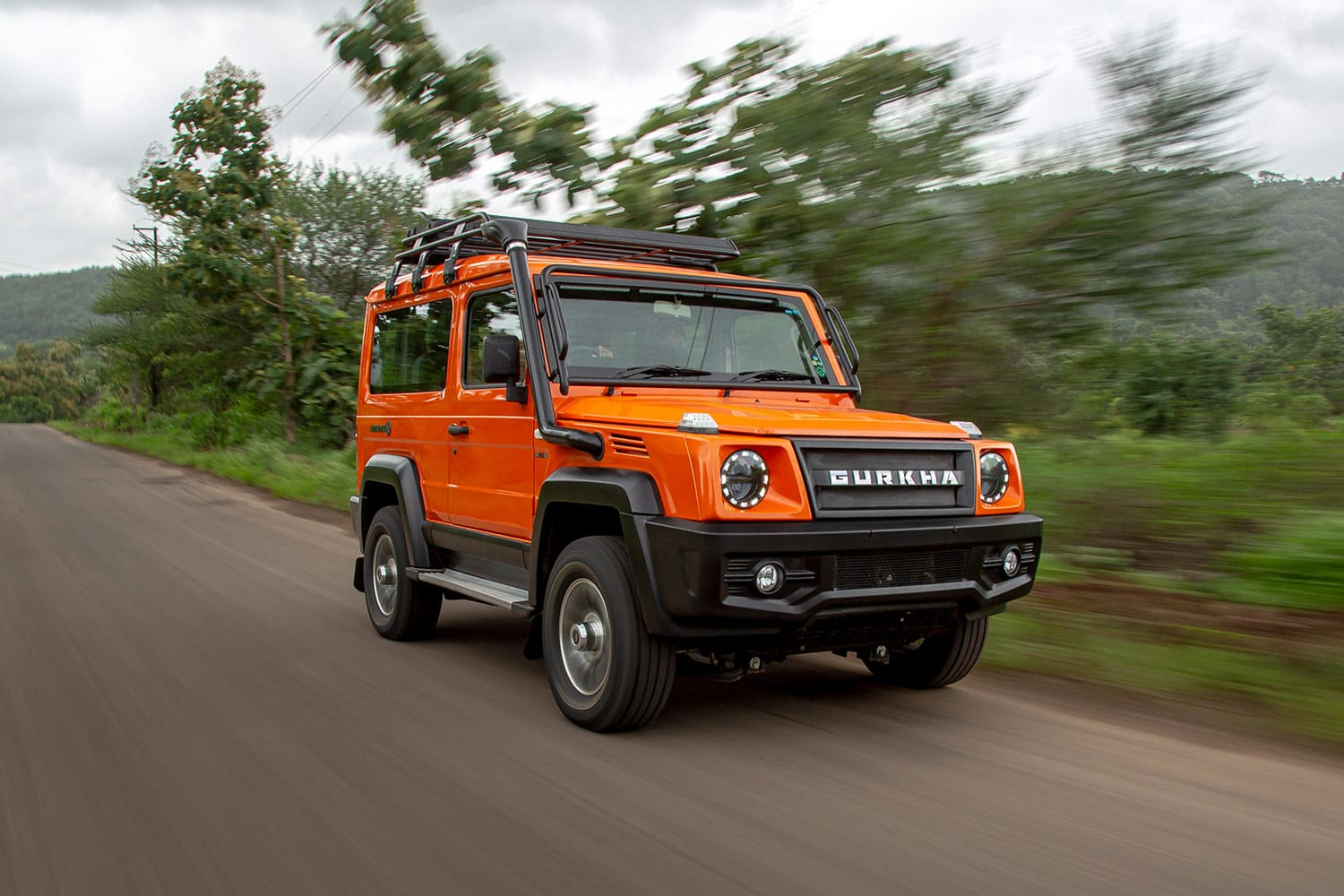 2021 Force Gurkha To Launch On September 27