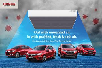 अब होंडा की कारों में लोग रहेंगे वायरस से सुरक्षित, कंपनी ने पेश किया एंटी वायरस केबिन फिल्टर