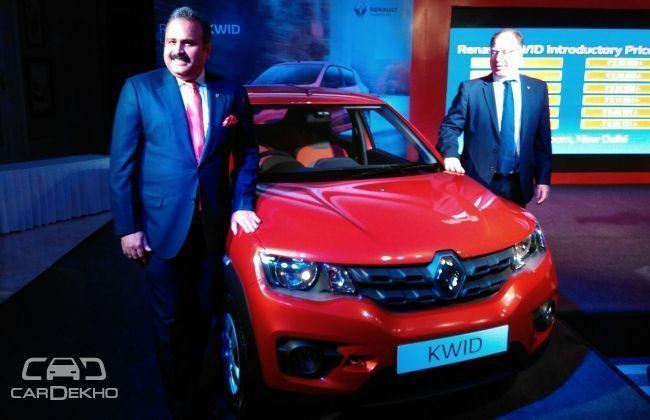 Renault KWID Receives 50,000 Customer Orders!