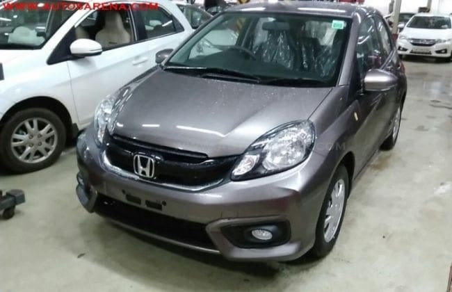 Honda Brio Facelift Spotted At Dealership – Launch On ...