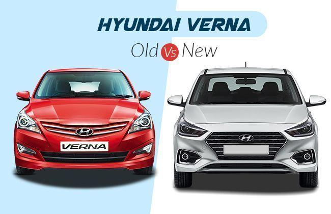 Hyundai Verna Old Vs New Cardekho Com