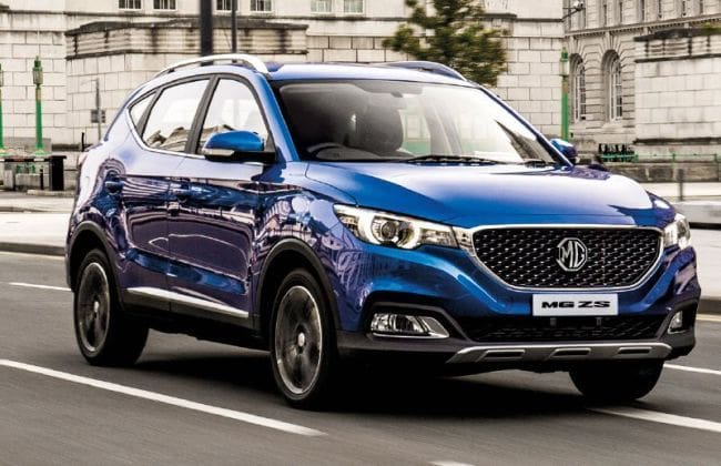 mg zs compact suv launched in the uk might come to india. Black Bedroom Furniture Sets. Home Design Ideas
