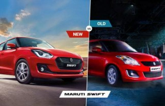 Maruti Swift 2018: New Vs Old – Major Differences | CarDekho com