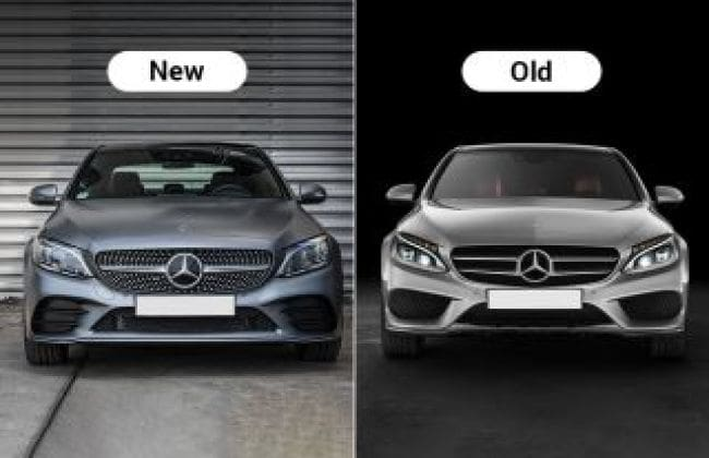 2018 Mercedes-Benz C-Class Facelift : New Vs Old - Major