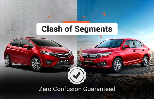 Clash Of Segments: 2018 Honda Jazz vs Honda Amaze - Which Car To Buy?