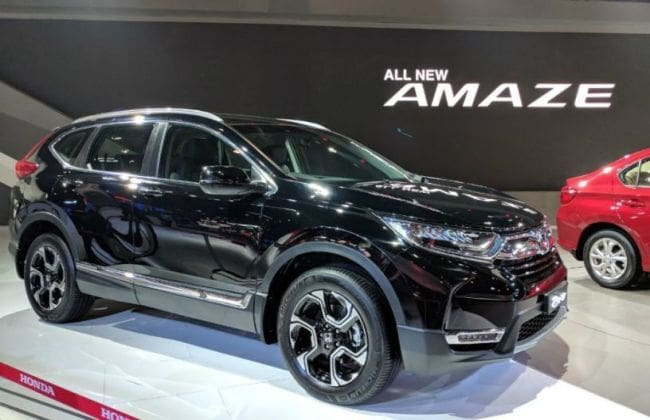 New 2018 Honda CR-V India Launch In October; Engine ...
