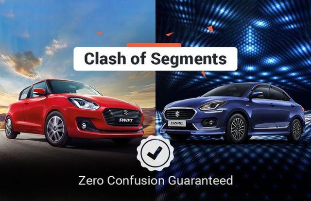 Clash Of Segments: Maruti Swift vs Maruti Dzire - Which Car To Buy?
