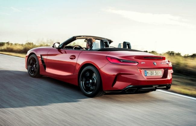 2019 Bmw Z4 Unveiled Gets An M Variant For The First Time