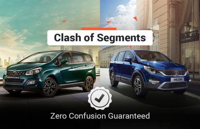 Whats The Value Of My Car >> Clash Of Segments: Mahindra Marazzo vs Tata Hexa - Which Car To Buy? | CarDekho.com