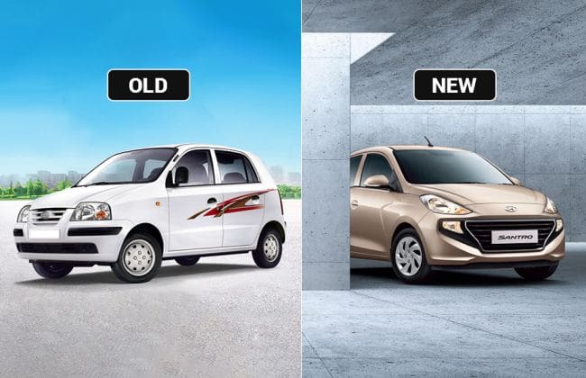 Hyundai Santro Old Vs New Major Differences Cardekho Com