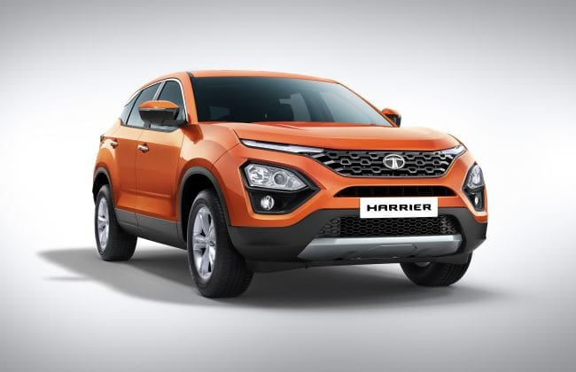 Tata Harrier Revealed In Production Guise Gets No Sunroof