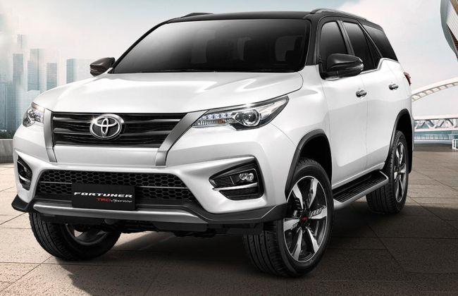 Updated Toyota Fortuner Trd Sportivo Revealed Cardekho Com