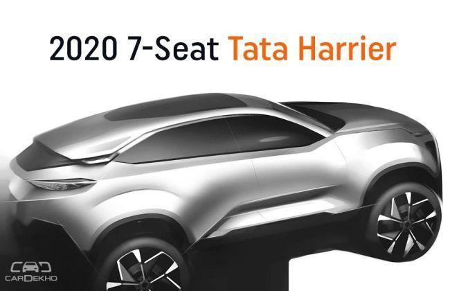 seat tata harrier confirmed  launch   cardekhocom