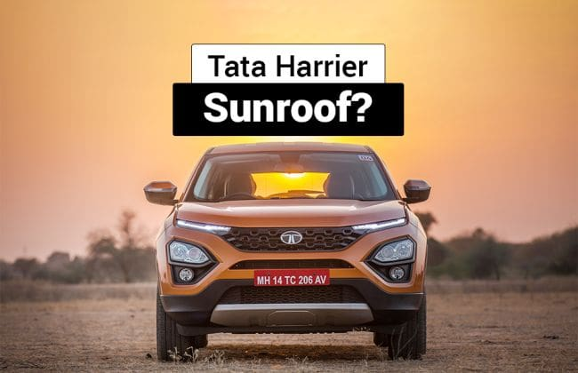 Tata To Offer Sunroof On Harrier Buzzard Amp Others In