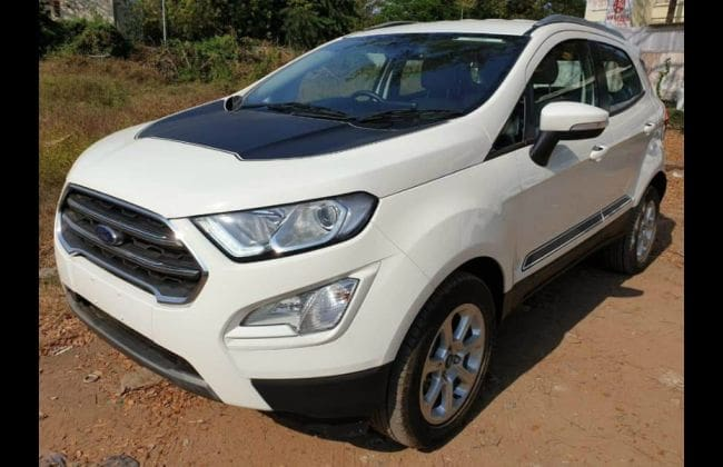 Ford Ecosport To Take On Hyundai Venue With Thunder Edition
