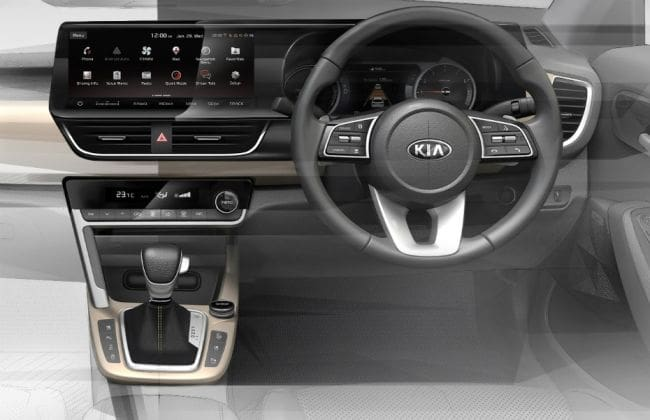 Kia SP2i Official Interior Sketches Revealed Ahead Of June Reveal