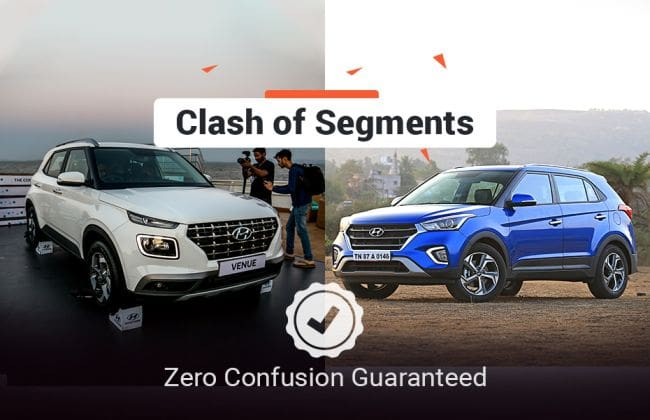Hyundai Venue Vs Hyundai Creta: Clash Of Segments