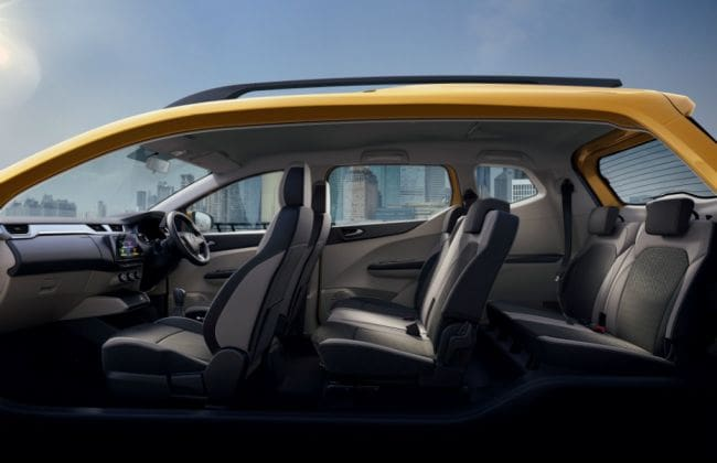 Renault Triber Flexible Seating Options Explained Cardekho Com