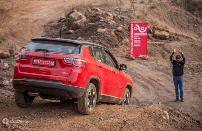 Jeep Compass Trailhawk To Launch Today