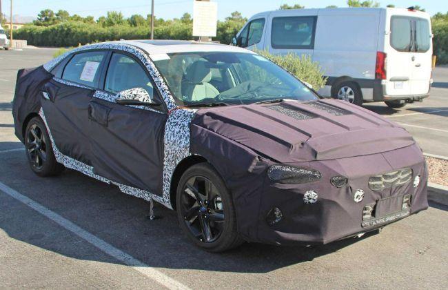 Next-gen 2021 Hyundai Elantra Spied For The First Time