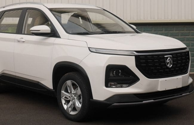 MG Hector Facelift Spied In China For The First Time