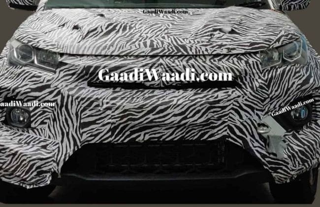 Tata Nexon Facelift Looks Mean With An All-New Front End
