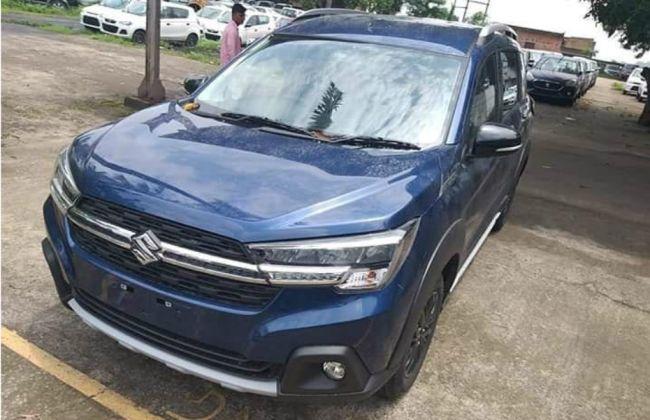 Maruti Suzuki XL6 Spied Inside-Out Ahead Of Its Launch Tomorrow