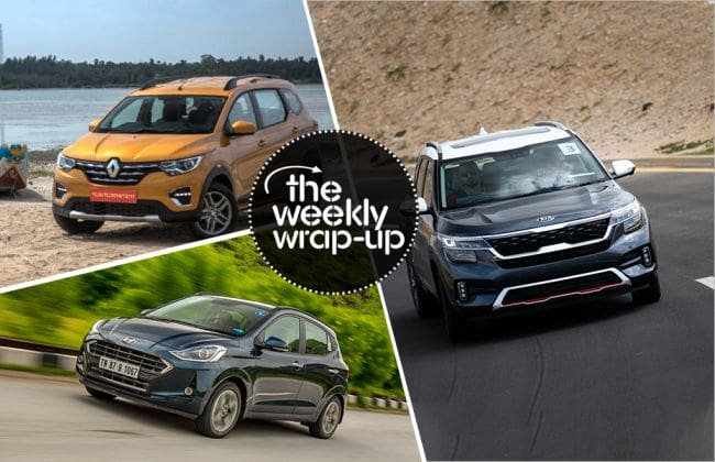 Top India Car News: Hyundai Grand i10 Nios Review, 2019 Renault Kwid Facelift, Kia Seltos Pics & More