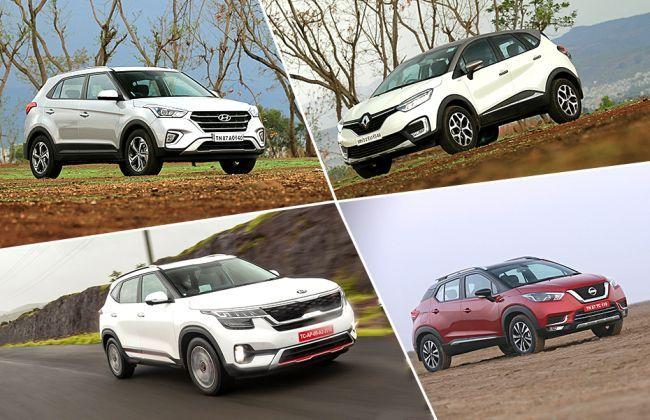 Kia Seltos vs Hyundai Creta vs Nissan Kicks vs Renault Captur: Which SUV Offers More Space?