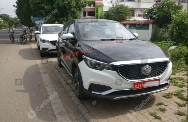 MG eZS Electric SUV Spied Testing In India; Launch In Early 2020