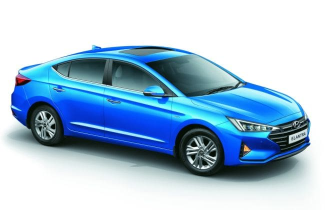 Hyundai Elantra Facelift Variants And Colour Options Revealed