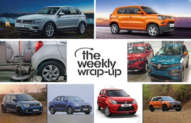 Top 5 Car News Of The Week: Maruti S-Presso Fully Revealed, BS4 vs BS6, Kwid Facelift Spied In Full And More!