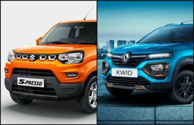 मारुति एस-प्रेसो Vs रेनो क्विड : जानिए कौनसी कार रहेगी बेहतर