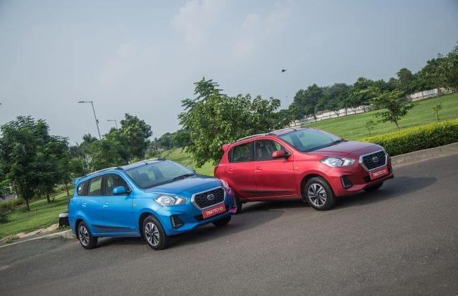 Datsun GO, GO+ Prices Hiked By Up To Rs 30,000
