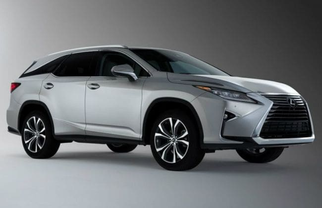 Lexus RX 450hL 7-Seater SUV Launched At Rs 99 Lakh