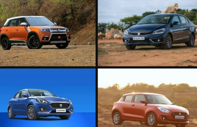 Maruti Diwali Offers: Save Up To Rs 1 Lakh On Maruti Vitara Brezza & More
