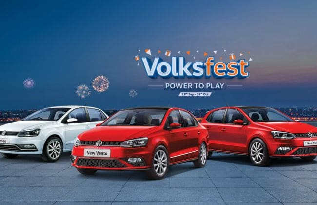 Volkswagen Volkfest 2019: Benefits Over Rs 1 Lakh On Polo, Vento, Ameo & More