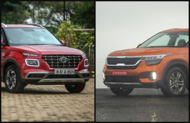 Hyundai Venue vs Kia Seltos: Turbo-petrol Real-world Performance & Mileage Comparison