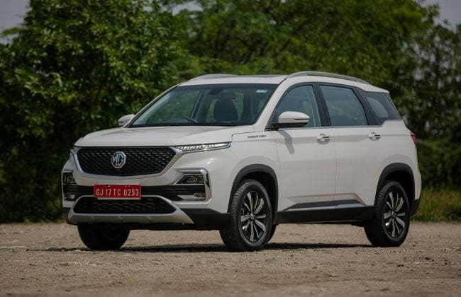 MG Hector Owners Alert! SUV Gets Its First Software Update