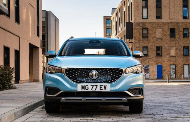 MG ZS Electric SUV To Get Inbuilt Air Purifier