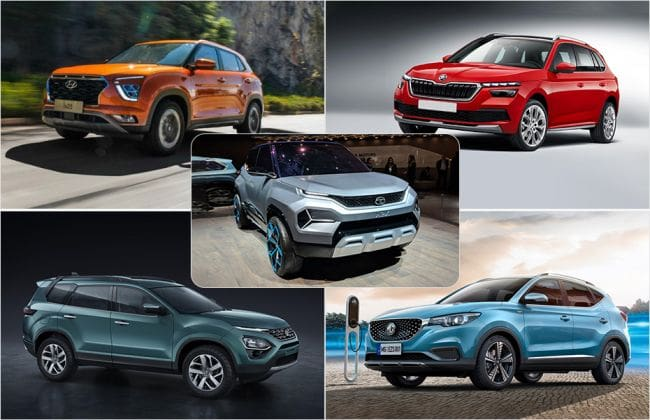 Here Are Upcoming Suvs That Will Be Launched In 2020