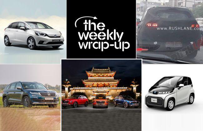 Top 5 Car News Of The Week: 2020 Hyundai Creta, 2020 Honda Jazz, Toyota-Suzuki Electric, And More
