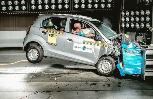 Hyundai Santro Gets Two-Star Rating In Global NCAP Crash Test