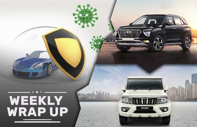 Top Car News Of The Week: MG Hector vs Hyundai Creta, Mahindra Bolero BS6, BS4 Car Sales, Toll Suspension And Car Care Against Coronavirus