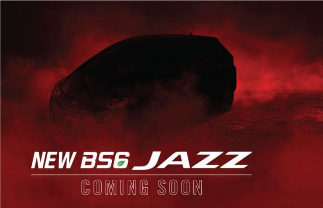 BS6 Honda Jazz Teased Ahead Of Launch